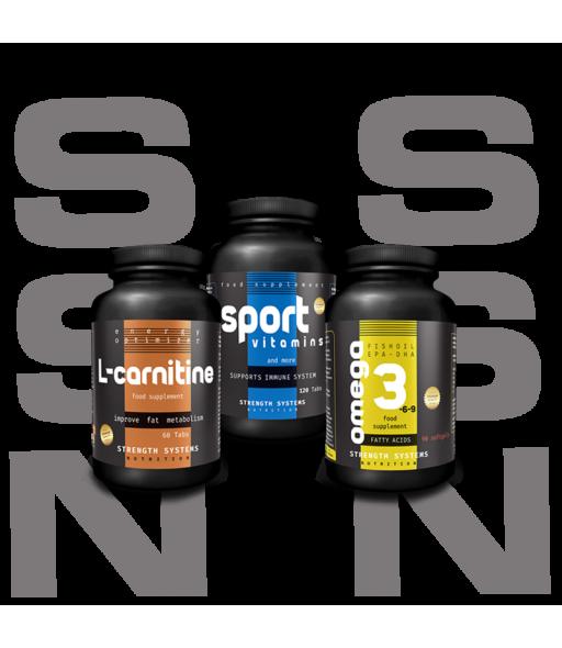 L-Carnitine 60tabs - Sport Vitamins 120tabs - Omega 3-6-9 90softgels