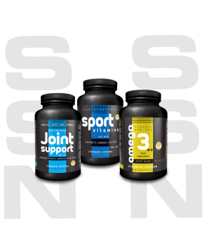 Joint Support 120tabs - Sport Vitamins 120tabs - Omega 3-6-9 90softgels