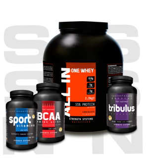 All In One Whey - BCAA - Tribulus Terrestis - Sport Vitamins