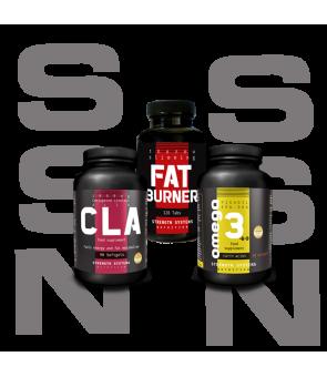 CLA - Fat Burner Pro - Omega 3-6-9