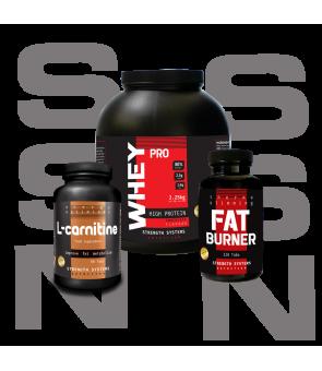 Whey Pro 2.25kg - Fat Burner Pro - L-Carnitine