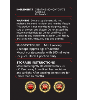 Creatine Monohydrate 300gr
