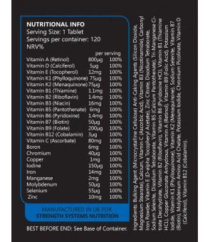 Sport Vitamins 120tabs