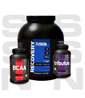 Recovery Fusion 2.25kg - BCAA Amino Acids 120tabs - Tribulus Terrestris 120caps