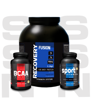 Recovery Fusion 2.25kg - BCAA Amino Acids 120tabs - Sport Vitamins 120tabs