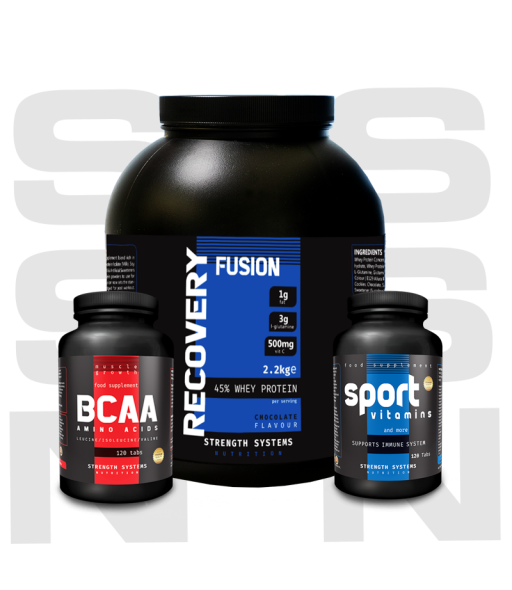 Recovery Fusion 2.25kg - BCAA Amino Acids 120tabs - Sport Vitamins 120tabs